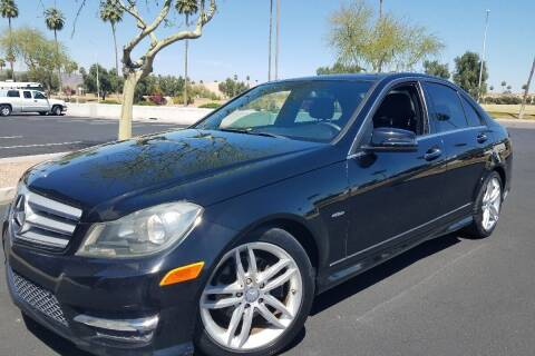 2012 Mercedes-Benz C-Class for sale at University Auto Sales in Cedar City UT