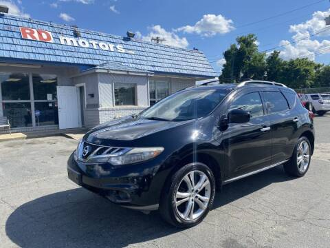 2011 Nissan Murano for sale at RD Motors, Inc in Charlotte NC