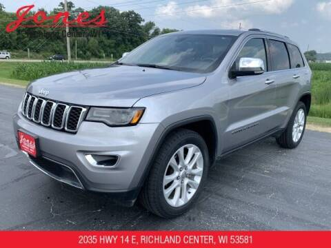 2017 Jeep Grand Cherokee for sale at Jones Chevrolet Buick Cadillac in Richland Center WI