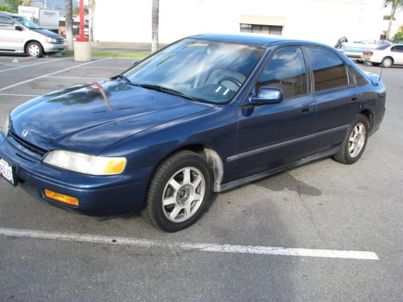 1995 Honda Accord for sale at M&N Auto Service & Sales in El Cajon CA