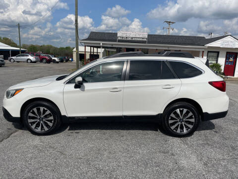 2015 Subaru Outback for sale at TAVERN MOTORS in Laurens SC