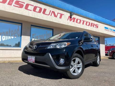 2014 Toyota RAV4 for sale at Discount Motors in Pueblo CO