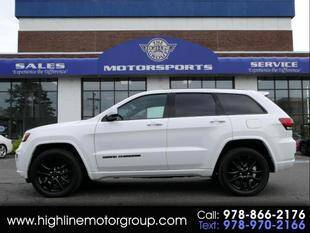 2018 Jeep Grand Cherokee for sale at Highline Group Motorsports in Lowell MA