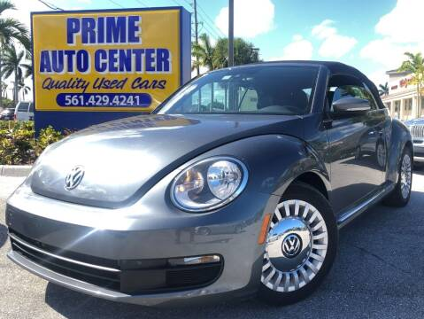 2016 Volkswagen Beetle for sale at PRIME AUTO CENTER in Palm Springs FL