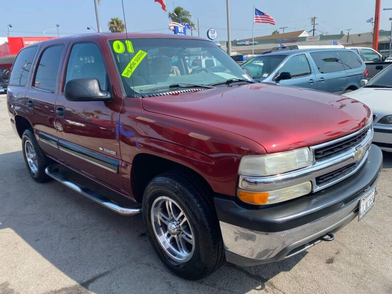 2001 Chevrolet Tahoe for sale at North County Auto in Oceanside CA