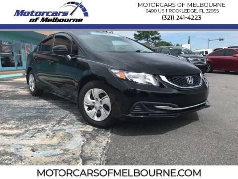 2015 Honda Civic for sale at Motorcars of Melbourne in Rockledge FL