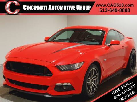 2015 Ford Mustang for sale at Cincinnati Automotive Group in Lebanon OH