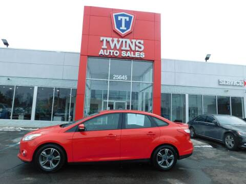 2012 Ford Focus for sale at Twins Auto Sales Inc Redford 1 in Redford MI