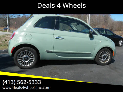 2012 FIAT 500 for sale at Deals 4 Wheels in Westfield MA