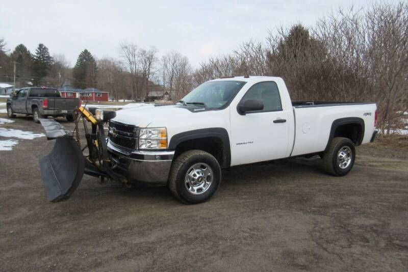 2013 Chevrolet Silverado 2500HD for sale at Clearwater Motor Car in Jamestown NY