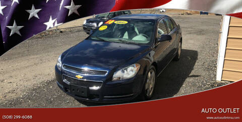 2010 Chevrolet Malibu for sale at AUTO OUTLET in Taunton MA