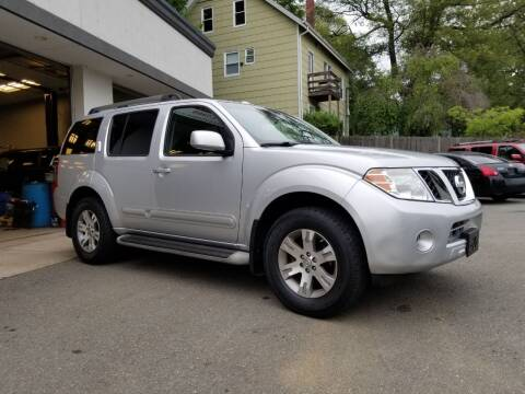 2011 Nissan Pathfinder for sale at Landes Family Auto Sales in Attleboro MA
