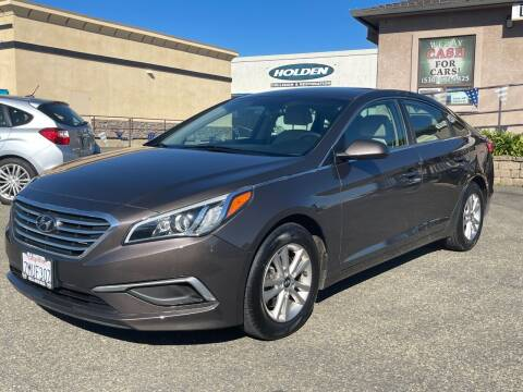 2016 Hyundai Sonata for sale at Deruelle's Auto Sales in Shingle Springs CA