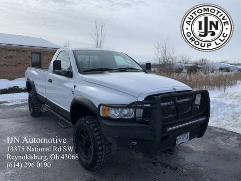 2004 Dodge Ram Pickup 2500 for sale at IJN Automotive Group LLC in Reynoldsburg OH