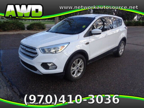 2017 Ford Escape for sale at Network Auto Source in Loveland CO