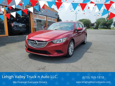 2014 Mazda MAZDA6 for sale at Lehigh Valley Truck n Auto LLC. in Schnecksville PA