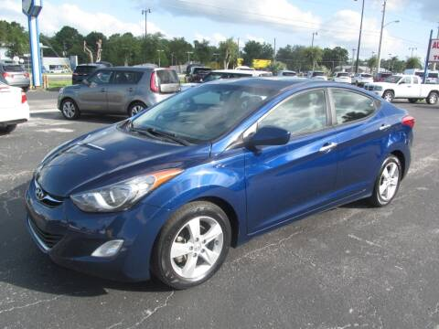 2013 Hyundai Elantra for sale at Blue Book Cars in Sanford FL