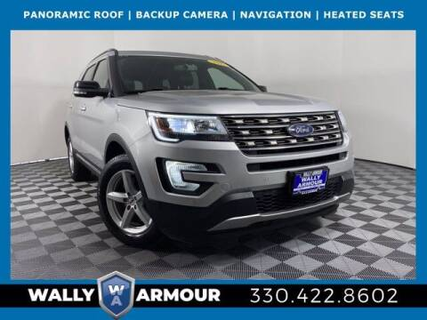 2017 Ford Explorer for sale at Wally Armour Chrysler Dodge Jeep Ram in Alliance OH