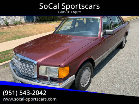 1988 Mercedes-Benz 560-Class for sale at SoCal Sportscars in Covina CA