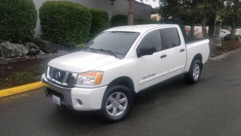 2008 Nissan Titan for sale at SS MOTORS LLC in Edmonds WA