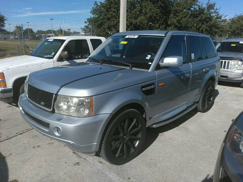 2007 Land Rover Range Rover Sport for sale at LUXURY IMPORTS AUTO SALES INC in North Branch MN