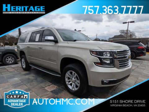 2015 Chevrolet Suburban for sale at Heritage Motor Company in Virginia Beach VA