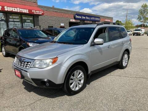 2011 Subaru Forester for sale at AutoCredit SuperStore in Lowell MA