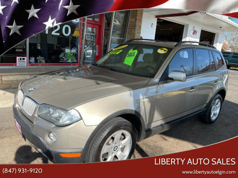 2007 BMW X3 for sale at Liberty Auto Sales in Elgin IL