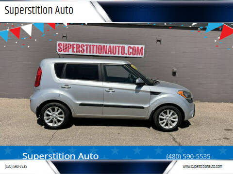 2012 Kia Soul for sale at Superstition Auto in Mesa AZ