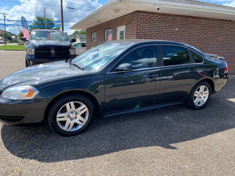 2012 Chevrolet Impala for sale at MYERS PRE OWNED AUTOS & POWERSPORTS in Paden City WV