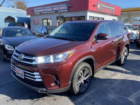 2019 Toyota Highlander for sale at International Motors in Laurel MD