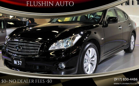 2012 Infiniti M37 for sale at FLUSHIN AUTO in Flushing NY