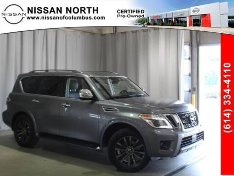 2020 Nissan Armada for sale at Auto Center of Columbus in Columbus OH
