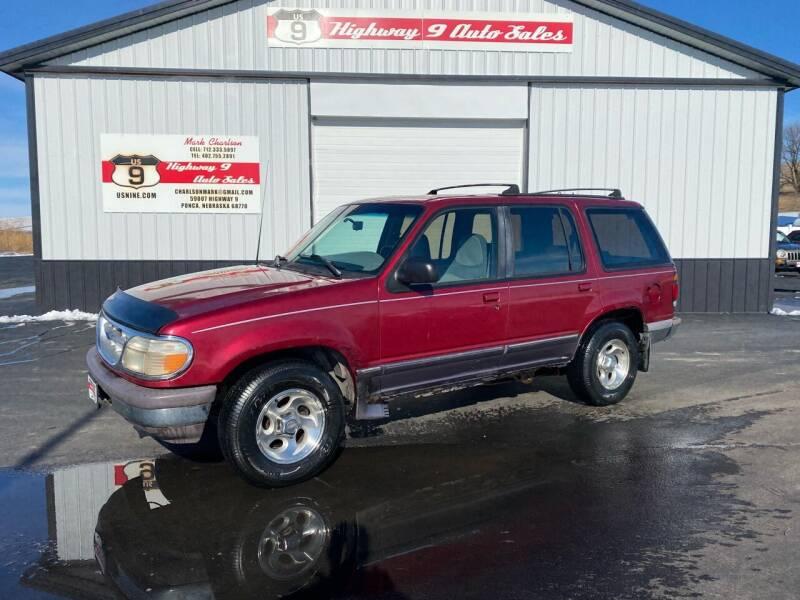 1995 Ford Explorer for sale at Highway 9 Auto Sales - Visit us at usnine.com in Ponca NE