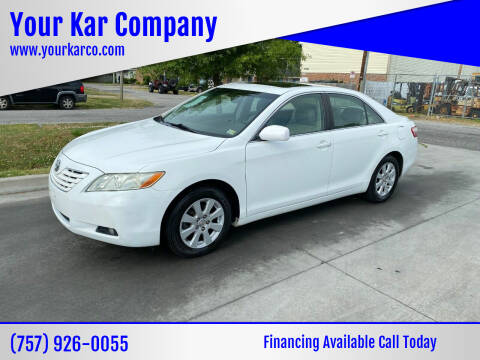 2008 Toyota Camry for sale at Your Kar Company in Norfolk VA
