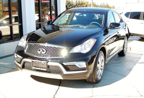 2017 Infiniti QX50 for sale at Avi Auto Sales Inc in Magnolia NJ
