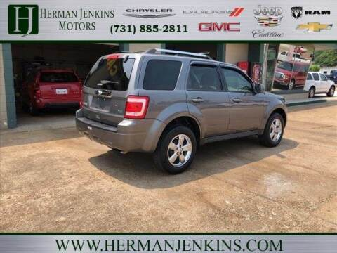 2011 Ford Escape for sale at Herman Jenkins Used Cars in Union City TN