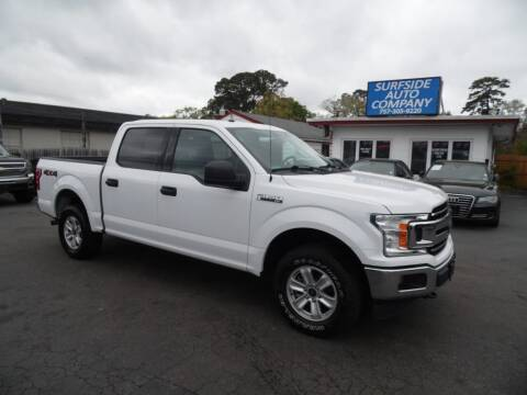 2018 Ford F-150 for sale at Surfside Auto Company in Norfolk VA