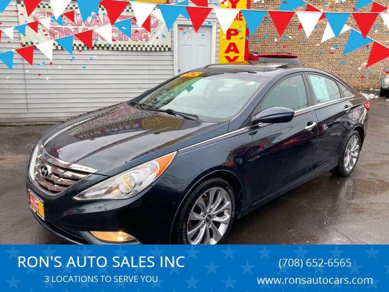 2012 Hyundai Sonata for sale at RON'S AUTO SALES INC in Cicero IL