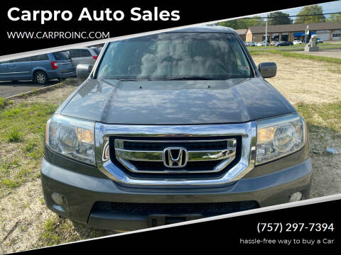 2010 Honda Pilot for sale at Carpro Auto Sales in Chesapeake VA