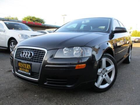 2007 Audi A3 for sale at WESTERN MOTORS in Santa Ana CA