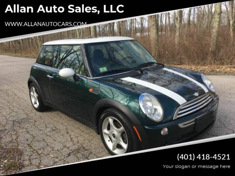 2006 MINI Cooper for sale at Allan Auto Sales, LLC in Fall River MA