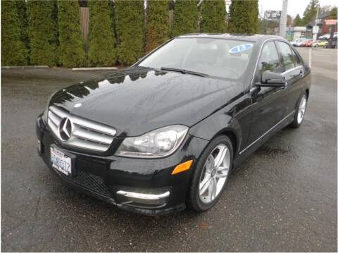 2013 Mercedes-Benz C-Class for sale at Klean Carz in Seattle WA