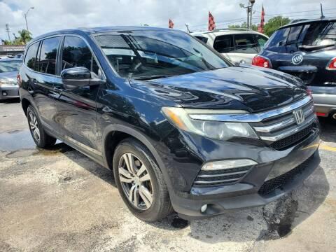 2016 Honda Pilot for sale at America Auto Wholesale Inc in Miami FL