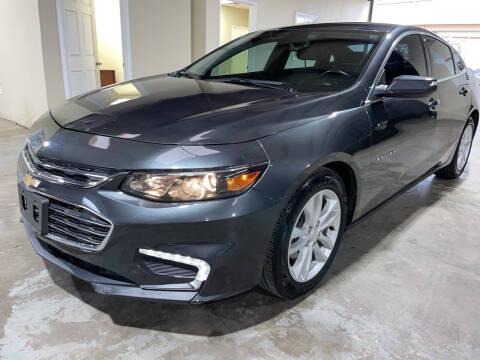 2016 Chevrolet Malibu for sale at Safe Trip Auto Sales in Dallas TX