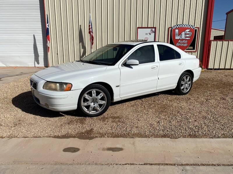 2006 Volvo S60 for sale at V12 Auto Group in Lubbock TX