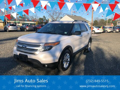 2013 Ford Explorer for sale at Jims Auto Sales in Lakehurst NJ