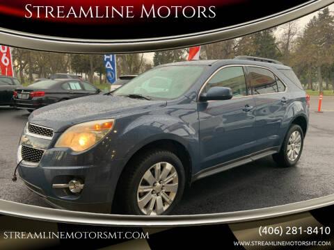 2011 Chevrolet Equinox for sale at Streamline Motors in Billings MT