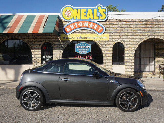 2014 MINI Coupe for sale at Oneal's Automart LLC in Slidell LA