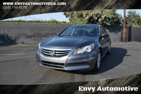 2011 Honda Accord for sale at Envy Automotive in Studio City CA